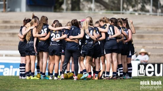 Juniors Girls Report: Round 2 - South Adelaide vs Woodville-West Torrens
