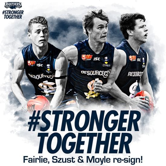 Three Young Panthers Back for 2018