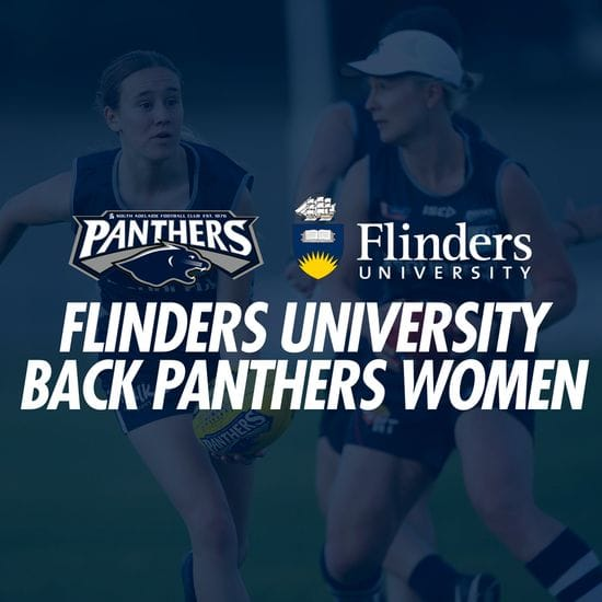 Flinders backs female Panthers in expanded sponsorship deal
