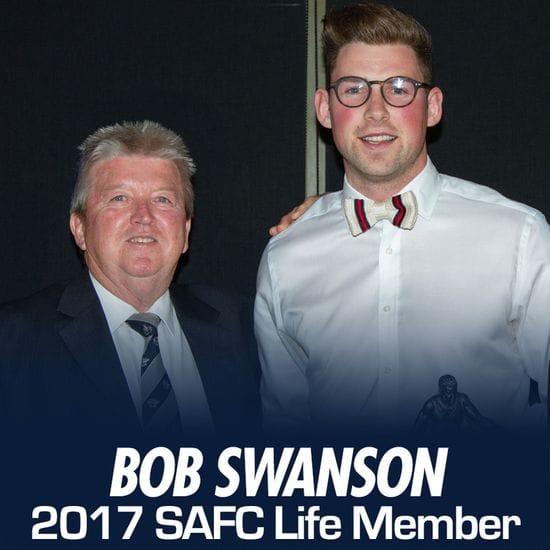 Bob Swanson Awarded Life Membership