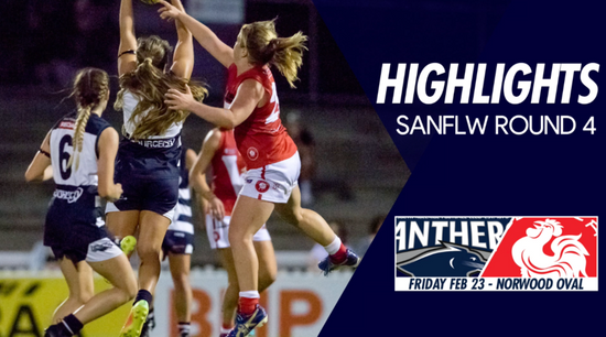 Panthers TV: SANFLW Round 4 highlights- South Adelaide Vs North Adelaide