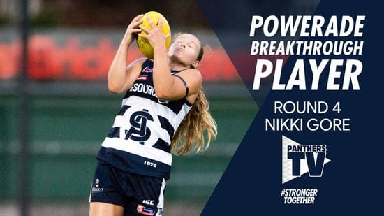 Panthers TV: Powerade Breakthrough Player - Nikki Gore