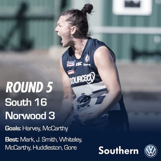 SAFCW - Round 5 - South Adelaide vs Norwood