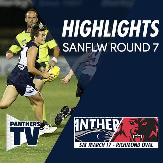 Panthers TV: SANFLW Round 7 highlights- South Adelaide Vs West Adelaide