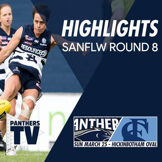 Panthers TV: SANFLW Round 8 highlights- South Adelaide Vs Sturt