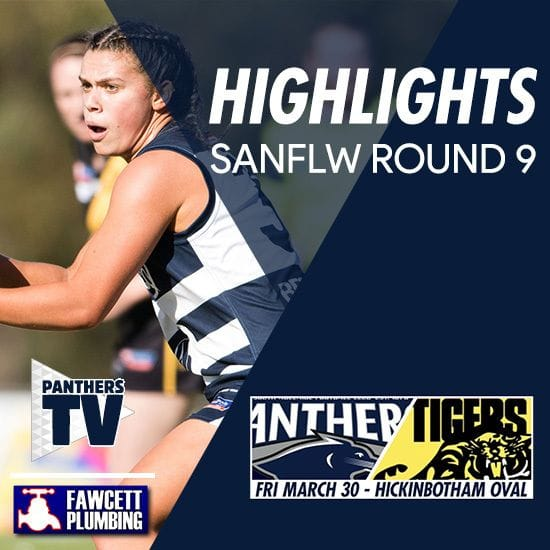 Panthers TV: SANFLW Round 9 highlights- South Adelaide Vs Glenelg