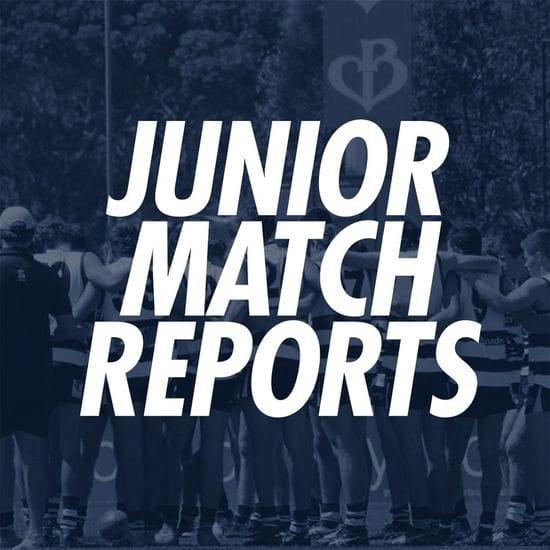 Junior Match Reports: Under 16s Round 1