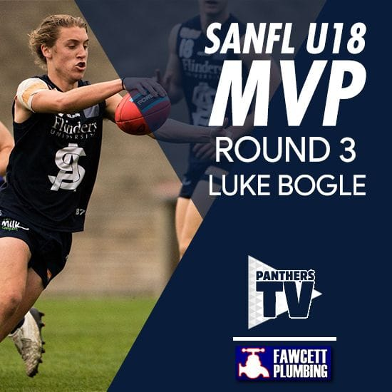 Panthers TV: SANFL U18 MVP Round 3 - Luke Bogle