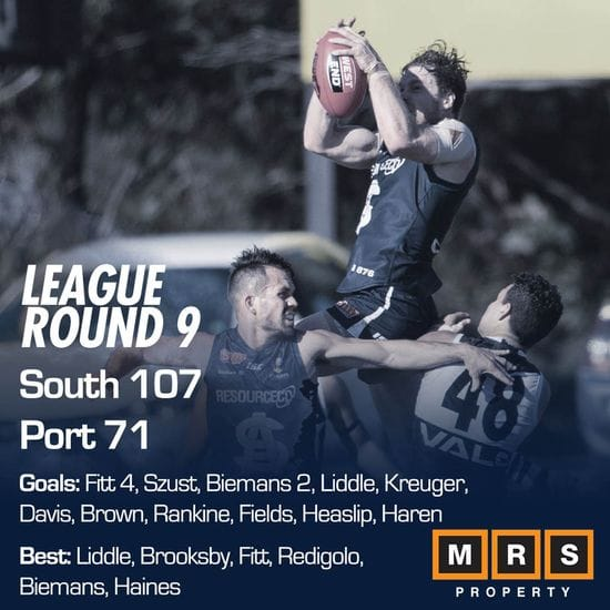 League Match Report - Round 9 - South Adelaide vs Port Adelaide