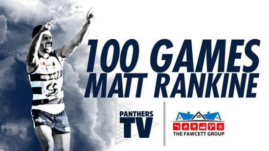 Matt Rankine - 100 SANFL Games