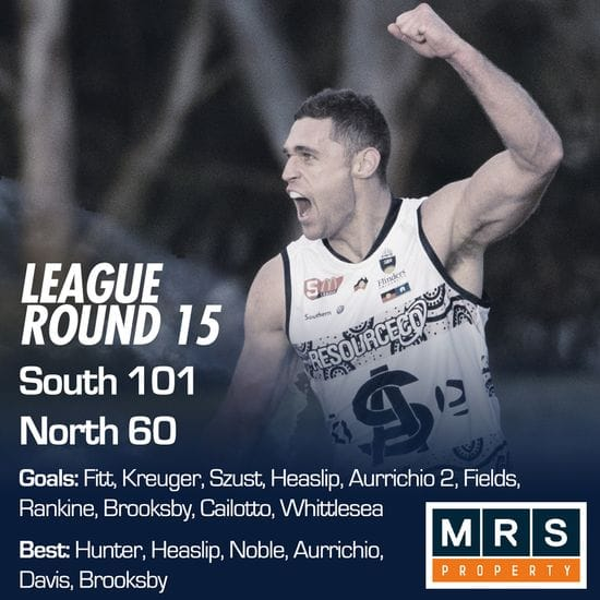 League Match Report - Round 15 - South Adelaide vs North Adelaide