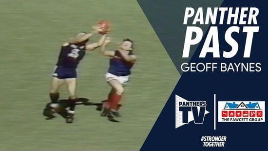 Panthers Past - Geoff Baynes