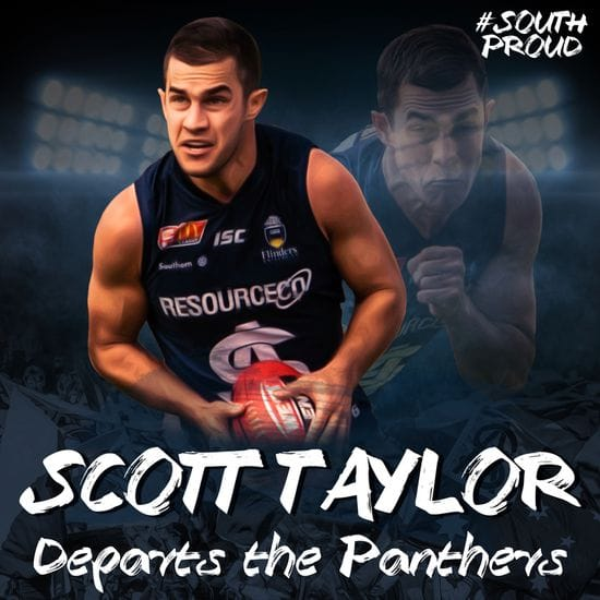 Scott Taylor departs the Panthers