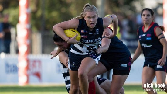Montana McKinnon named to AFL Women's Academy Squad
