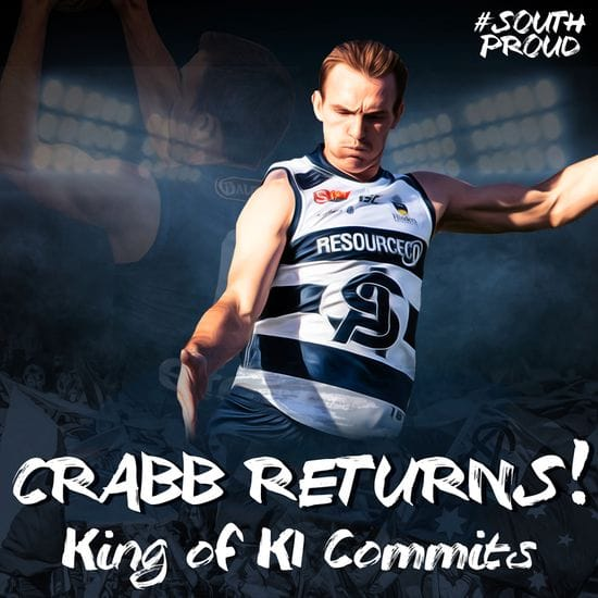 Brad Crabb signs on for 2019