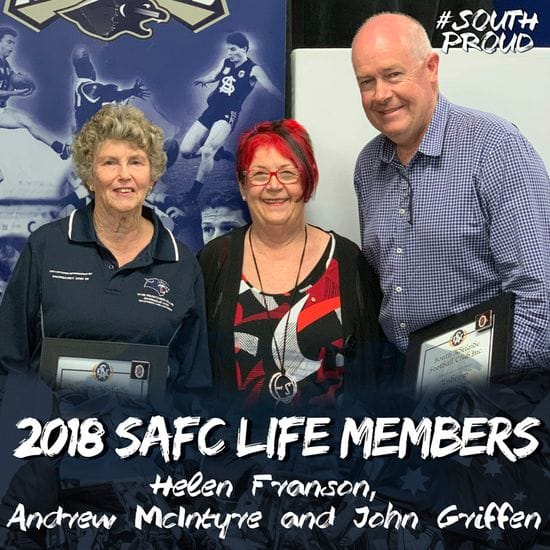2018 Life Member Inductions