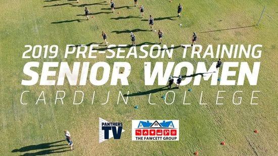 Panthers TV: 2019 Pre-Season Training - Senior Women's