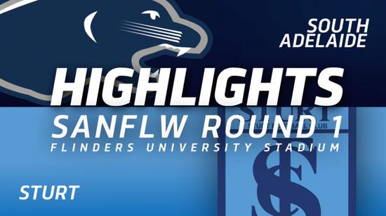 PanthersTV: South Adelaide vs Sturt Highlights | Round 1, 2019 | SANFLW