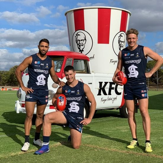 South Adelaide and KFC Seaford Rise cook up a winner