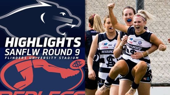 SANFLW | South Adelaide vs Norwood Highlights | Round 9, 2019