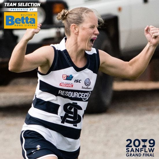 Betta Teams: SANFLW Grand Final - South Adelaide vs North Adelaide