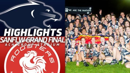 SANFLW | South Adelaide vs North Adelaide Highlights | Grand Final 2019
