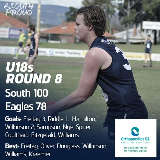 Junior Match Report: U18s clip the undefeated Eagles