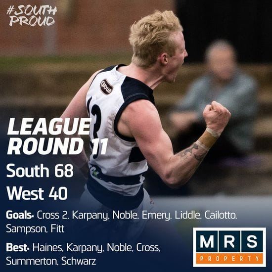 League Match Report: South win the scrap against the Bloods