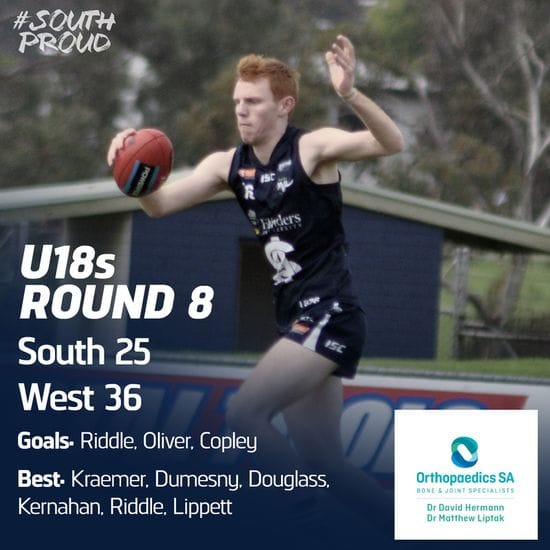 Junior Match Report: U18s fall to the Bloods
