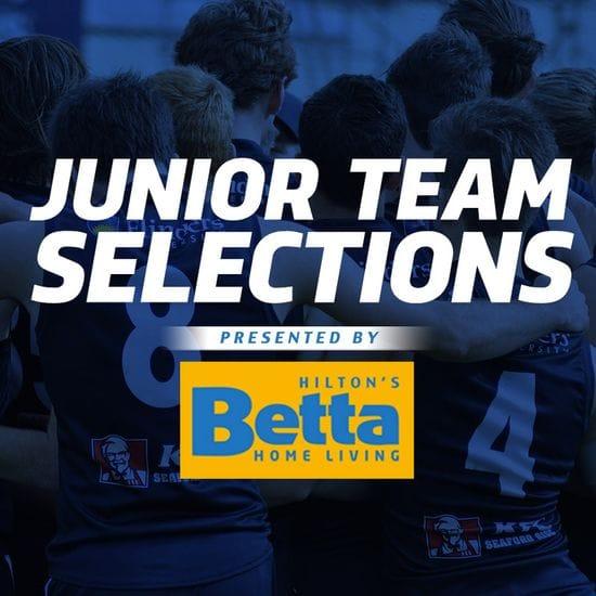Betta Teams: Juniors - U18 Round 14