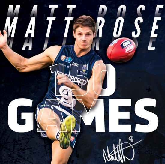 150 up for Matt Rose