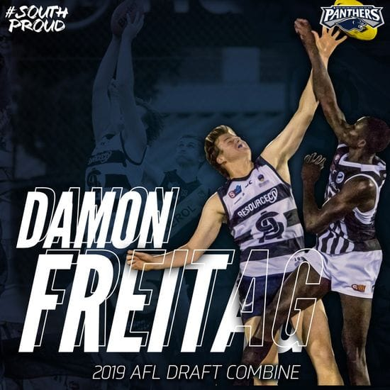 One Panther invited to 2019 AFL Draft Combine.