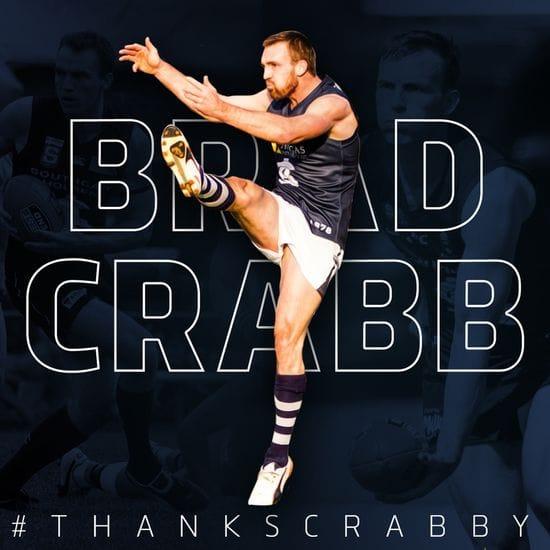 Brad Crabb calls time on SANFL Career