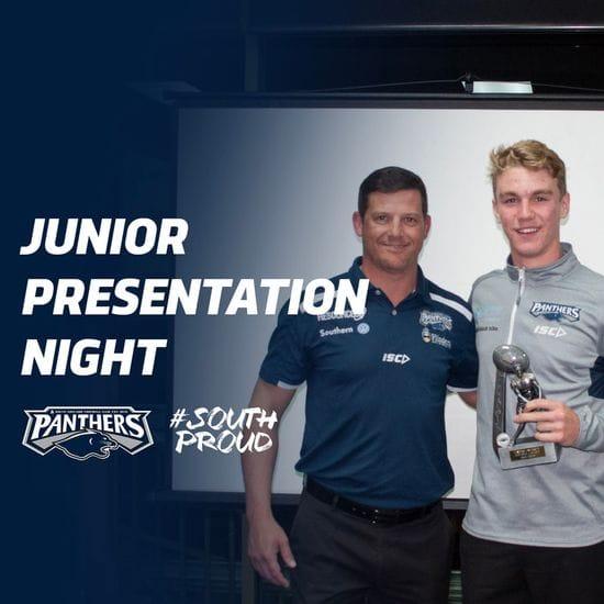 2019 U16 and Development Squads Presentation Night Award Winners