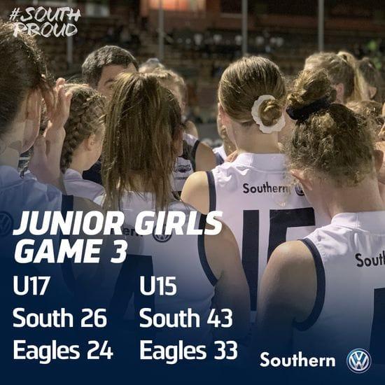 Junior Girls Match Report: U17s book a spot in a 5th straight Grand Final