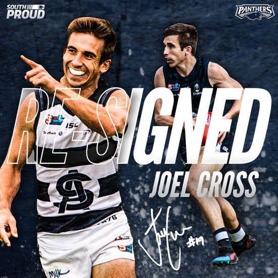 Joel Cross inks a new deal