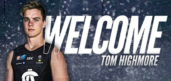 Tom Highmore becomes a Panther