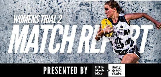 Women's Match Report: Trial 2 South vs Sturt