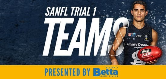 Betta Teams: SANFL Trial 1 - South Adelaide vs North Adelaide