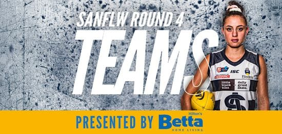 Betta Teams: SANFLW Round 4 - South Adelaide vs North
