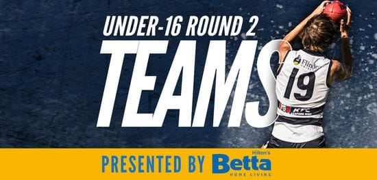 Betta Teams: Under-16 Round 2 - South Adelaide vs North Adelaide