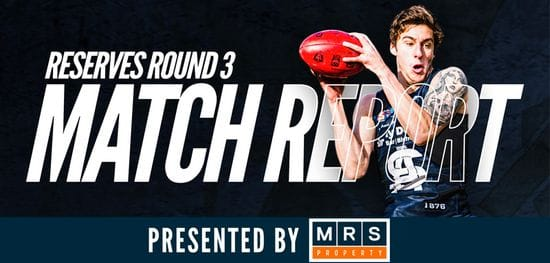 MRS Property Reserves Match Report Round 3: South vs Centrals