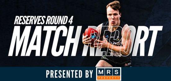 MRS Property Reserves Match Report Round 4: South vs Sturt