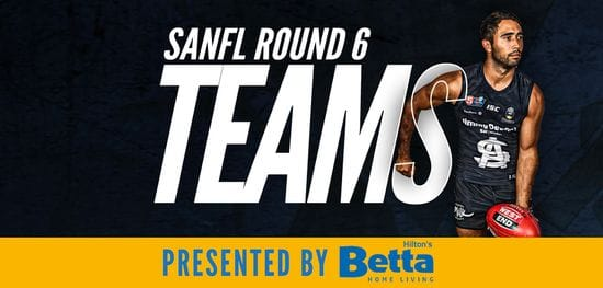 Betta Teams: SANFL Round 6 - South Adelaide @ North Adelaide