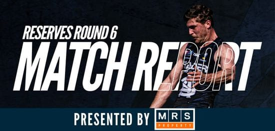 MRS Property Reserves Match Report Round 6: South vs North