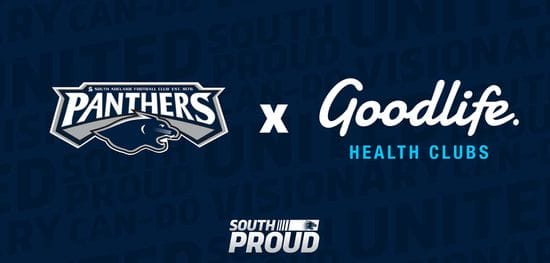 Panthers team up with Goodlife Health Clubs