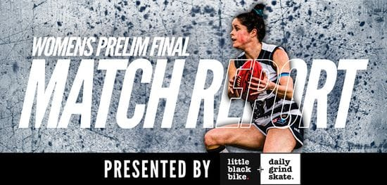 LBB + DGS Women's Match Report: Prelim Final South vs West