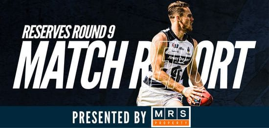 MRS Property Reserves Match Report Round 9: South vs Glenelg