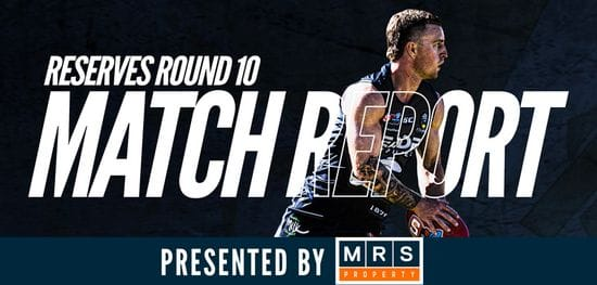MRS Property Reserves Match Report Round 10: South vs Centrals