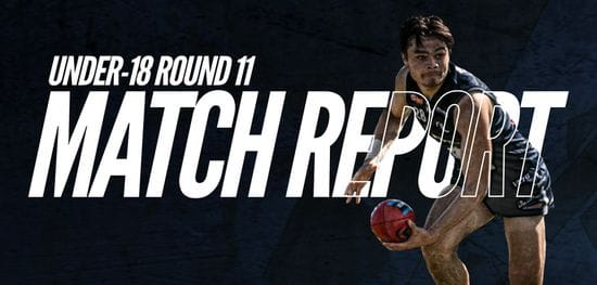 Under-18 Match Report Round 11: South vs Sturt